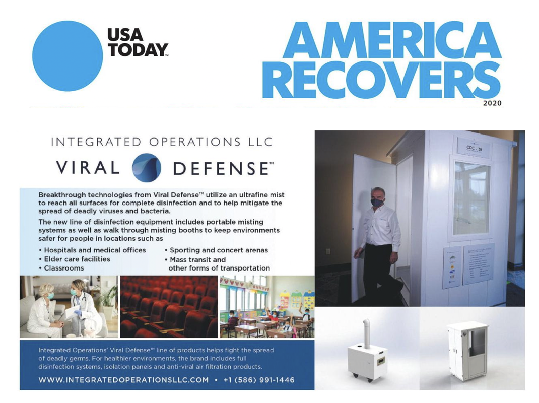 USA Today Viral Defense Integrated Operations
